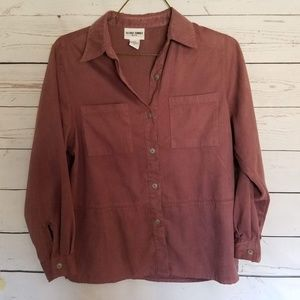 Alfred Dunner Mauve Button Up